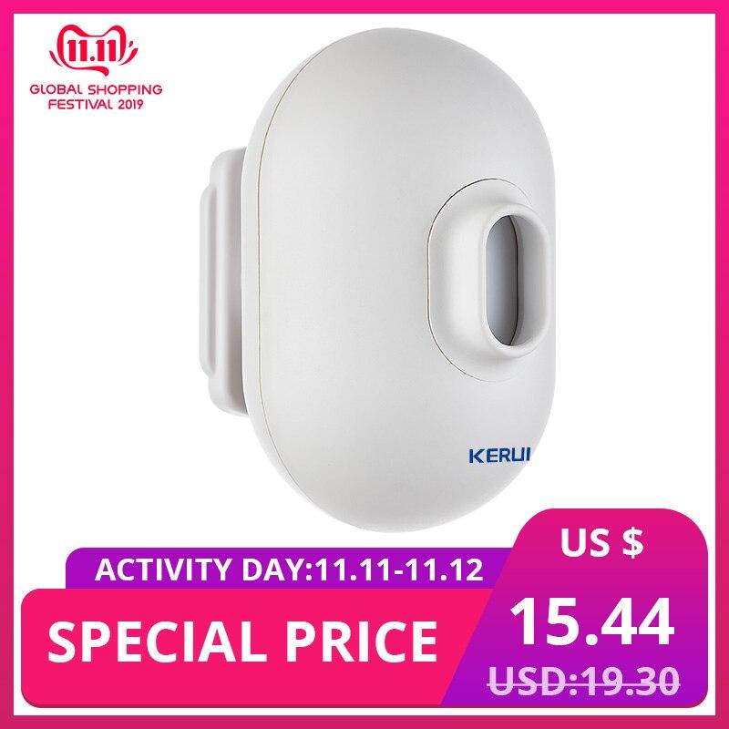 KERUI P861 Wireless Security Alarm Driveway Garage Burglar Alarm PIR Motion Sensor Detector Waterproof Outdoor