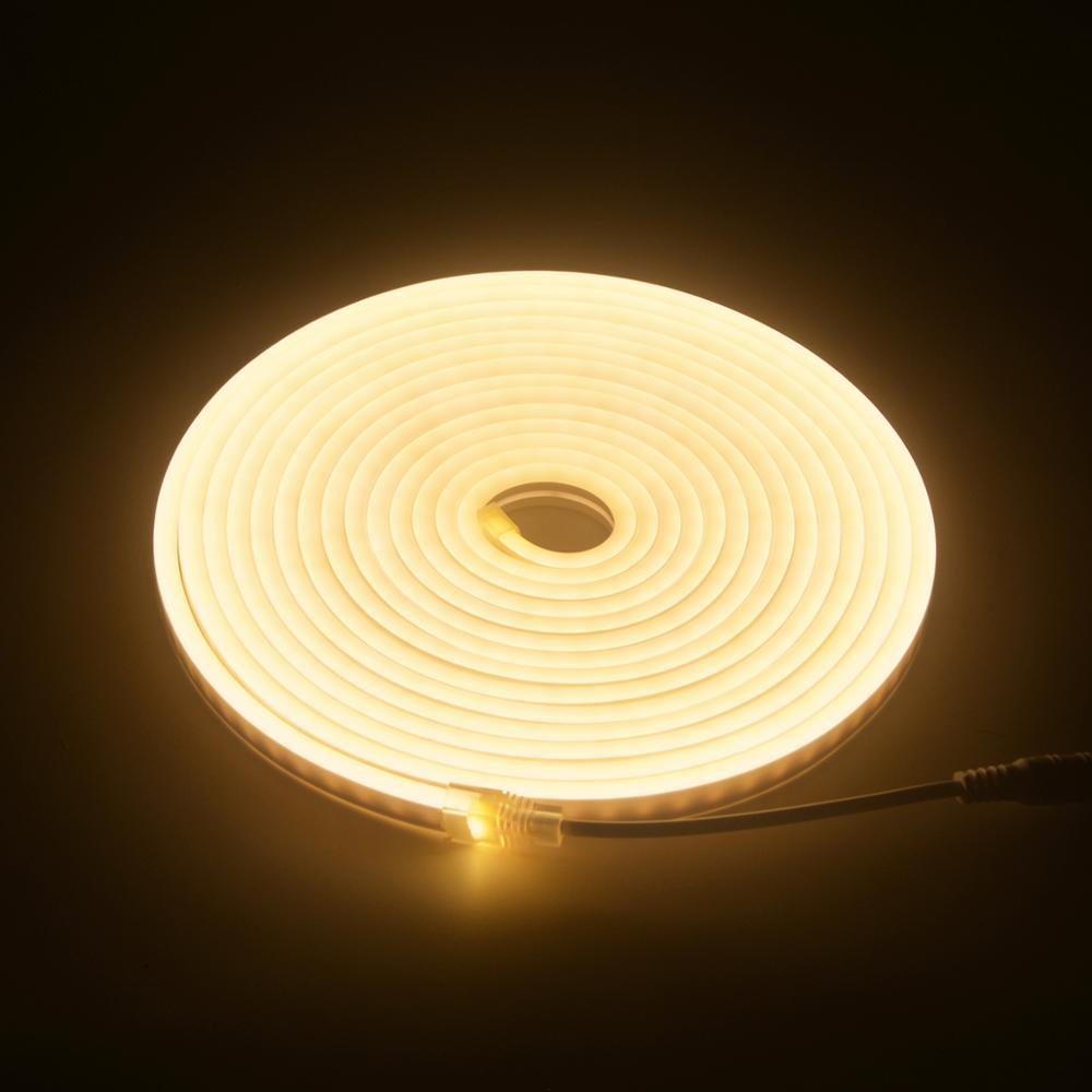 Flexible Cuttable LED 3528 Strip Light 12V Kitchen Under Cabinet Cupboard Ceilin