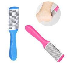 1 шт. профессиональная двухсторонняя пилка для ног, рашпиль, терка для пятки, средство для удаления омертвевшей кожи, пилка для педикюра, тер...