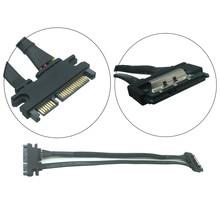 30cm 50cm 22Pin SATA Cable Male to Female 7+15 Pin Serial ATA SATA Data Power Combo Extension Cable Connector Conterver