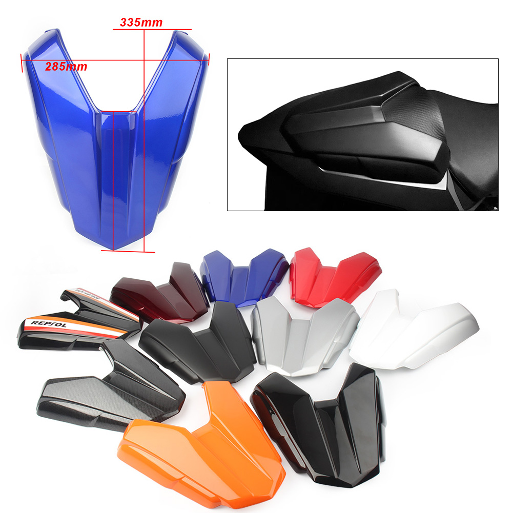 Motorcycle Rear Passenger Pillion Seat Cover Fairing Protection Cowl for <font><b>Honda</b></font> <font><b>CB500F</b></font>/CBR500R CBR 500 R 2016 2017 <font><b>2018</b></font> CB 500 F image