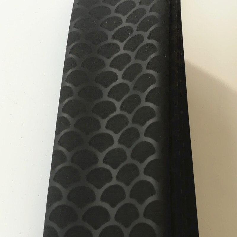 Продаж 1м не ковзання термоусадочна трубка для вуджових стержнів ізоляція тепла термоусадочна трубка DIY трубка ракетка ручка зчеплення