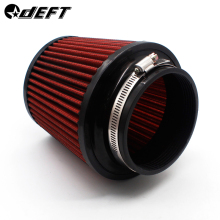 DEFT 76 мм 100 мм Воздушный фильтр Впускной индукционный Комплект Универсальный пылезащитный высокий поток воздуха всасывающие фильтры Грибная головка воздушный фильтр