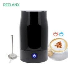 REELANX – mousseur à lait électrique automatique, chaud/froid, pour café Cappuccino
