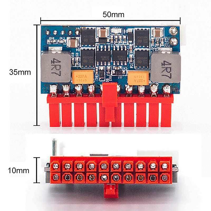 Dc Atx Spitzen Netzteil 12V 120W Pico Atx Schalter Bergbau Netzteil 20Pin Mini Itx Dc Zu Atx Pc netzteil für Mini Pc Computer