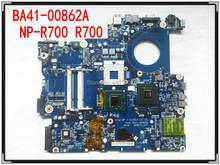 BA41-00862A para samsung NP-R700 R700 965PM DDR2 COM placa de vídeo de laptop Motherboard Livre Processador
