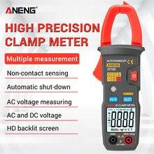 ANENG – pince multimètre de courant ca numérique ST183, 6000 comptes, plage automatique 600A, testeur de tension NCV, ammètre