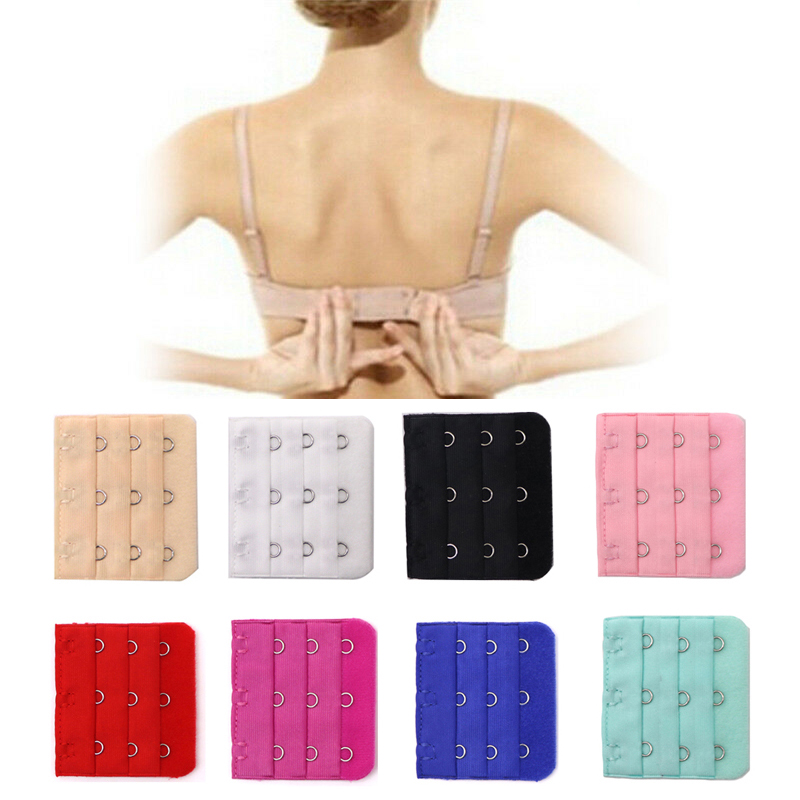 5pcs/lot Buckle Extended Lengthened Belt Bra Extender 2/3 Hooks Extension Accessories For Underwear Increase Intimates Size
