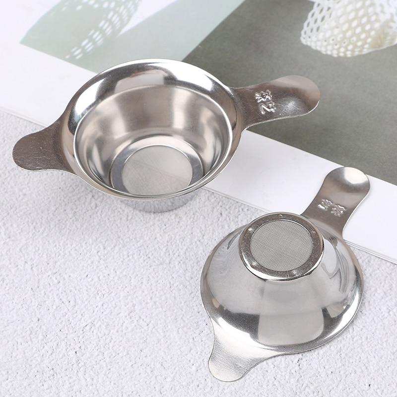 Stainless Steel Mesh Tea Infuser Filter Cup Strainer Loose Tea Leaf Filter Sieve