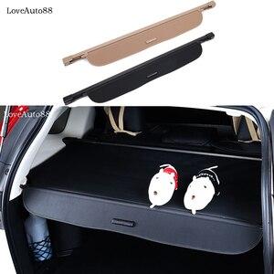 Image 2 - Para Honda CRV CR V 2017 2018 2019 2020 cubierta cortina maletero partición cortina partición bastidores traseros accesorios de estilo de coche