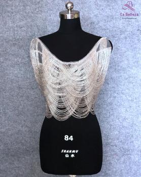 1Piece Gold/Silver fringe patch,fringe appliques, beads patch,wedding gown appliques
