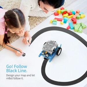 Image 5 - Makeblock mBot DIY Robot kiti, Arduino, giriş seviyesi programlama, çocuklar için STEM eğitim. (Mavi, Bluetooth sürümü)