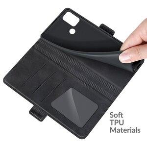 Image 5 - جراب محفظة جلدي لهاتف MOTO G30 ، جراب هاتف مغناطيسي عتيق لهاتف MOTO G10