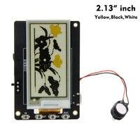 LILYGO®Placa de desarrollo eléctrica TTGO T5S V2.4  módulo inalámbrico Bluetooth con Wifi  Base ESP-32 Esp32  pantalla amarilla  EPaper Sperker