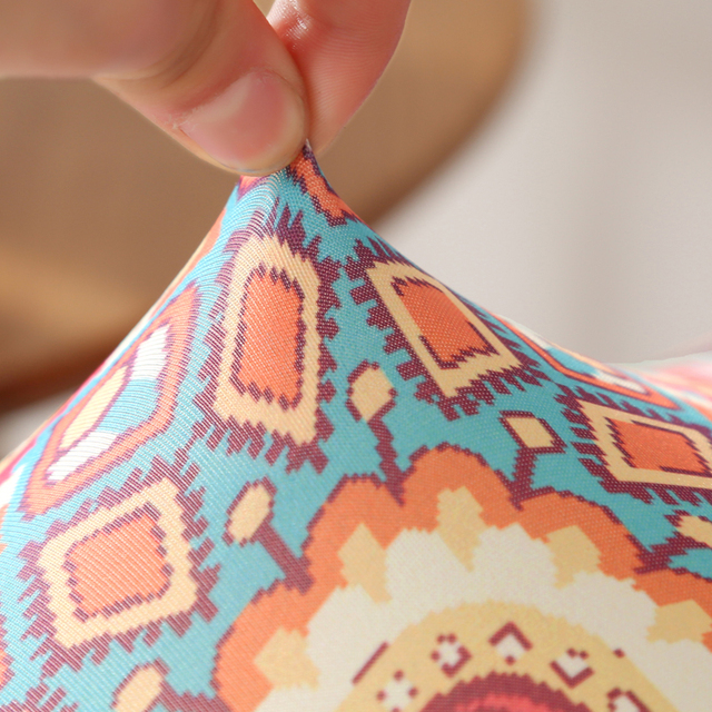 Elastic Printed Chair Cover 3
