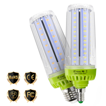 E14 LED Light 110V Ampoule E27 220V Bulb 20W 10W Corn Lamp 15W No Flicker Bombillas 5736SMD Energy Saving