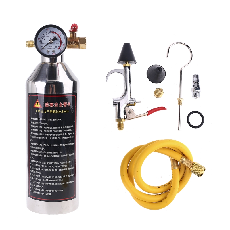 Car Air Conditioning Pipe Cleaning Machine Pipeline Washer Bottle Refrigeration