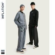 INFLATION Neue Ankunft Luxus Männer Blazer Lose Fit Fashion Marke Hohe Qualität Streetwear Männer Anzug Terno MasculinoBlazers Männer