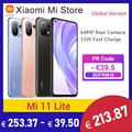 В наличии глобальная версия Xiaomi Mi 11 Lite Смартфон Snapdragon 732 Octa Core 6 ГБ ОЗУ 128 ГБ ROM 64MP камера NFC 90 Гц активно-матричные осид