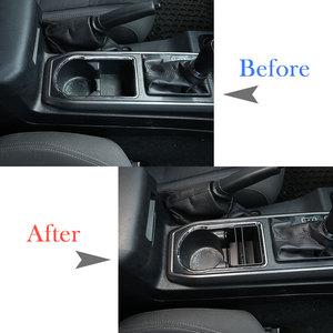 Image 2 - Car Central Console Compartment Storage Box Multifunction Storage Box Phone Tray Accessories Plastic for Toyota Tacoma 2016 2020