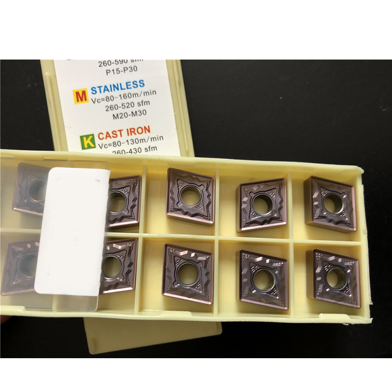 10Pcs DESKAR SCMT09T304 LF6018 Carbide insert For Stainless steel Replace PC9030