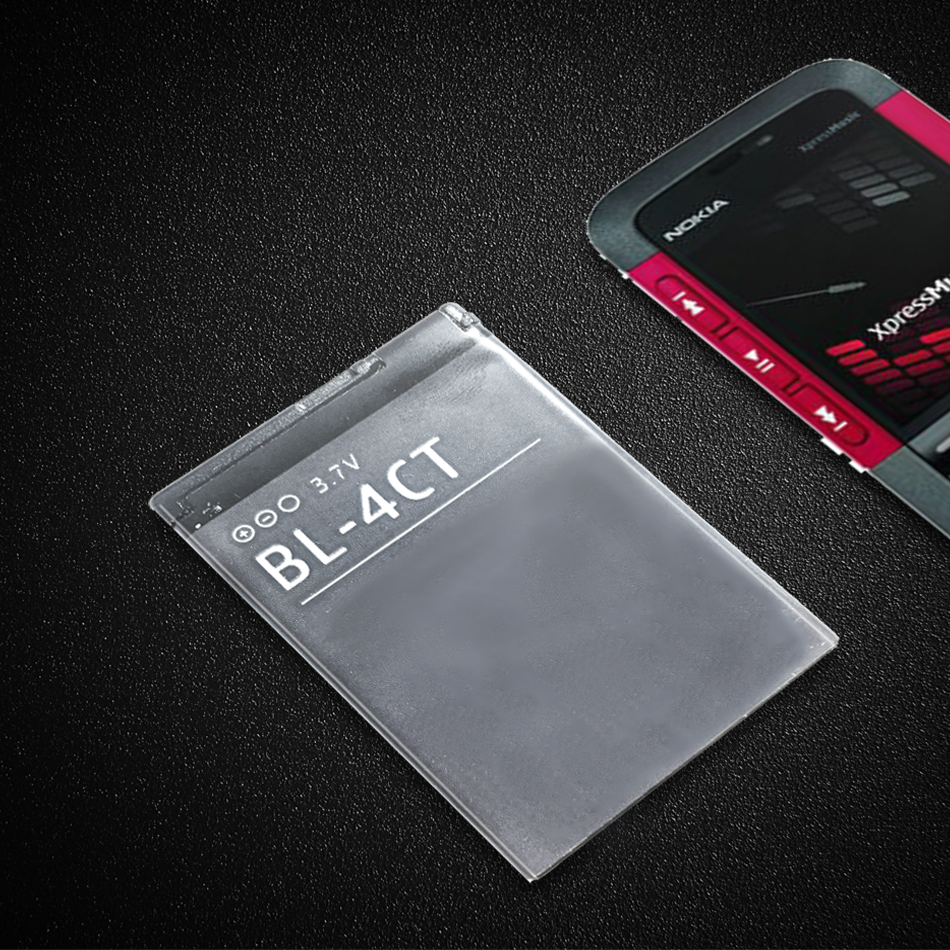 Cell Phone Battery BL-4CT 860mAh For <font><b>Nokia</b></font> 5310 6700S X3 X3-00 7230 7310C 5630 <font><b>2720A</b></font> 7210C 6600F BL 4CT image