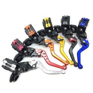 Image 3 - Alavancas da bomba de embreagem e do freio hidráulico de motocicleta, CNC, acessórios do cilindro mestre, 7/8 polegadas, pistão 12,7 mm, universal, para Honda, Yamaha