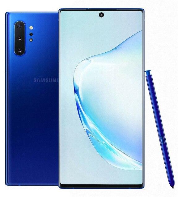 "Samsung Galaxy Note 10 Plus Note10+ Duos N975FD Dual Sim Global Version 12GB 256GB 6.8"" Exynos 4G LTE Original Cell Phone 4"