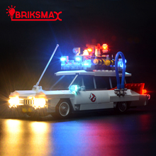 BriksMax Led Light Kit For Ghostbusters Ecto-1 Building Blocks Model Lighting Set Compatible With 21108 (Model Not Included)