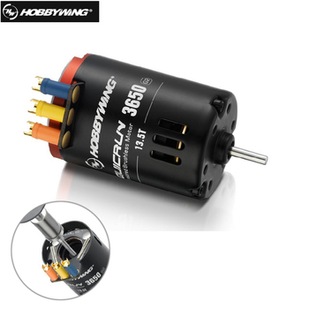 Hobbywing QUICRUN G2 3650 Sensored 6.5T / 8.5T /10.5T /13.5T / 17.5T / 21.5T Racing Brushless Motor for 1/10 Rc Car Crawler фото