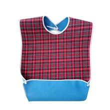 Большие водонепроницаемые нагрудники для взрослых, одежда для инвалидов, Защитное приспособление во время приготовления пищи, инструмент