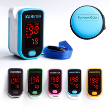 Portable Finger Pulse Oximeter Medical Equipment LED Oximeters Saturometro Heartrate Monitor Digital
