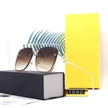 Square Sunglasses Polarized Frame Fashion Brand Designer Trend UV400 New