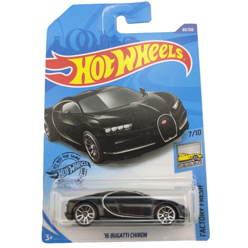2020 Hot Wheels 1:64 Car NO.75-110 BUGATTI CHIRON  ALPINE A110 CUP HONDA CIVIC Metal Diecast Model Car Kids Toys Gift