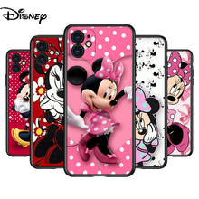 Silicone Cover Disney Minnie Mouse For Apple IPhone 12 Mini 11 Pro XS MAX XR X 8 7 6S 6 Plus 5S SE Phone Case