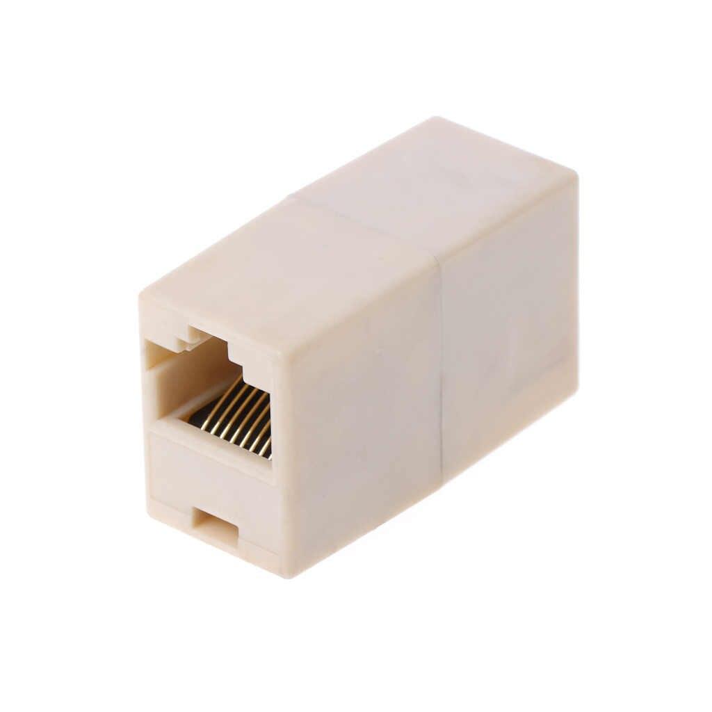 Prise en charge de la livraison directe de l'adaptateur de connecteur Ethernet réseau RJ45 CAT5 CAT5E