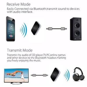 Image 5 - Bluetooth 5.0 transmissor e receptor 2 em 1 rca 3.5mm 3.5 aux jack estéreo música adaptador de áudio sem fio para o carro tv pc fone de ouvido