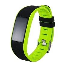 Fitness Tracker Smart Watch Waterproof,P4 Wristband Blood Pressure Oxygen Heart Rate Monitor