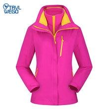 Женская теплая зимняя дождевая куртка trvlwego для катания на