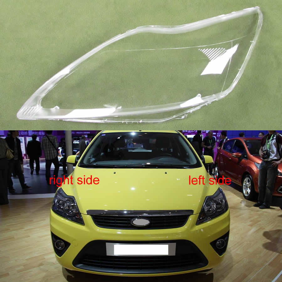 Headlamps Glass Cover Transparent Lampshades Lamp Shell Masks Lampshade Lens Glass For Ford Focus 2009 2010 2011