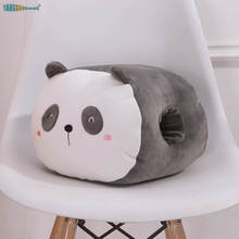Panda Soft stuffed animals dolls 25cm Penguin hand warmers lion dinosaur plush toys lobster whale cute kids toy gifts