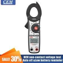 Medidor de braçadeira multímetro cem DT-350H/ DT-351H/DT-356H multi-função tipo display digital automático rms verdadeiro elétrica ac e dc