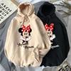 Disney Women Hoodies Minnie Mickey Mouse Hoodies Cartoon Tops Long Sleeve Pockets Sweatshirts Fashion Hooded Women 1