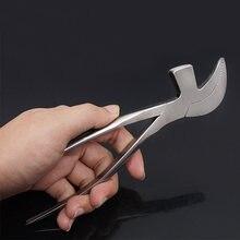 Плоскогубцы для кожевенного дела чугунные плоскогубцы инструмент