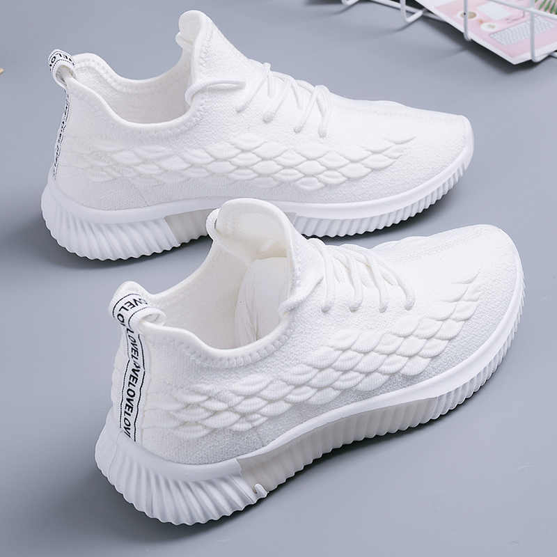 2020 kadın spor ayakkabı kadın koşu ayakkabıları kadın vulkanize kadın rahat daireler kadın yürüyüş ayakkabısı bayanlar yaz artı boyutu