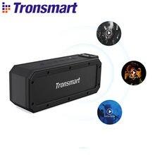 Tronsmart Element Force+ Bluetooth 5,0 Lautsprecher Leistungsstarke Bass Tragbare Lautsprecher mit Stimme Assistent, NFC, TWS, 40W Max Ausgang