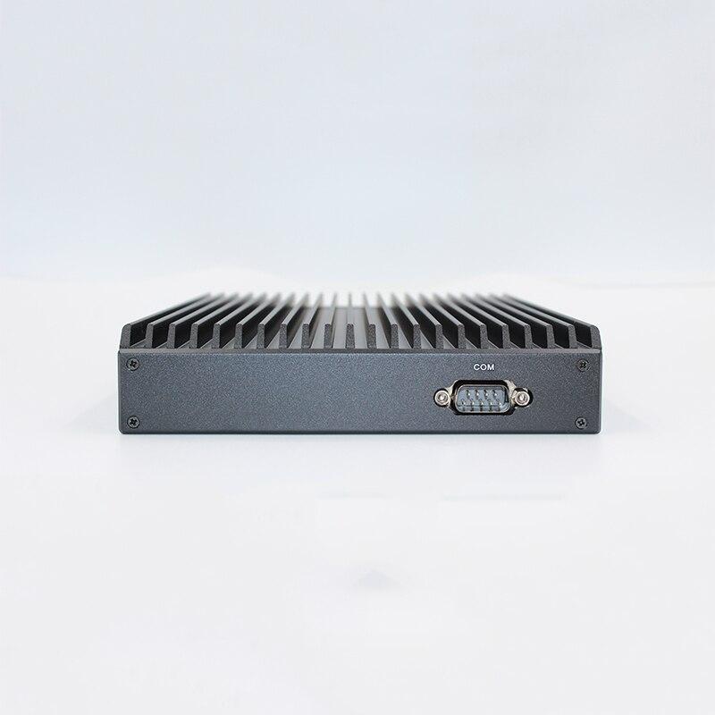 AMD 2500U Mini PC Quad Core Linux Fanless minipc 2 * LAN 6 * USB HDMI - 6
