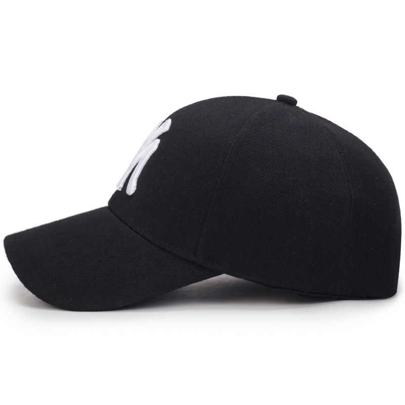 Huruf Saya Bordir Bisbol Topi Fashion Wanita Pria Musim Panas Dapat Disesuaikan Unisex Kualitas Tinggi Pelindung Kapas Snapback Topi BP3020