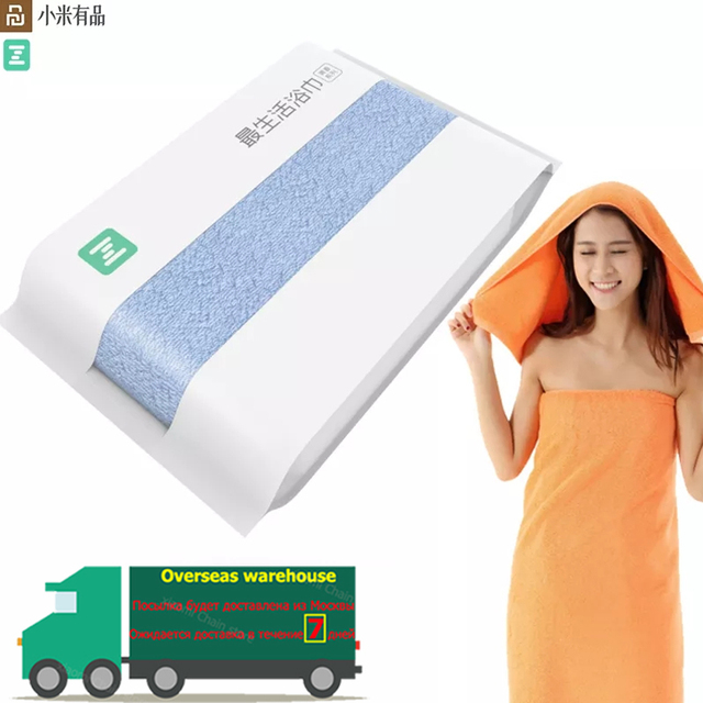 Original Youpin ZSH Bath Towel Facecloth Cotton Towel Young Beach Towel Washcloth Antibacterial Water Absorption Towels