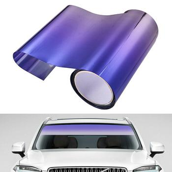 1 Roll Car Windshield Heat Insulation Film Waterproof Sticker film Window Car Protection 20cm*150cm Automobile UV Sunshade Z1T0 image